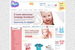 aga-sklep.pl - sklep internetowy zrealizowany przez Pffshop