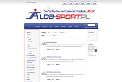 alda-sport.pl - sklep internetowy zrealizowany przez Pffshop