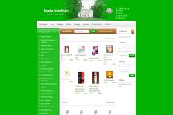 Apteka-Natolińska.pl - sklep internetowy zrealizowany przez Pffshop