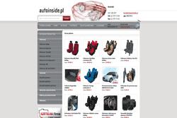 autoinside.pl - sklep internetowy zrealizowany przez Pffshop