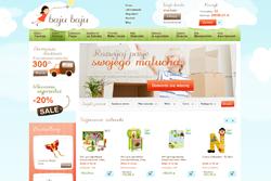 bajubaju.pl - sklep internetowy zrealizowany przez Pffshop
