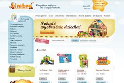 bimbao.pl - sklep internetowy zrealizowany przez Pffshop