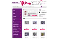 bonissa.pl - sklep internetowy zrealizowany przez Pffshop