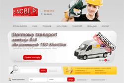 e-nobi.pl - sklep internetowy zrealizowany przez Pffshop