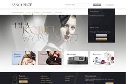fancy-shop.pl - sklep internetowy zrealizowany przez Pffshop