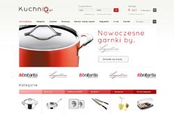 kuchniaiq.pl - sklep internetowy zrealizowany przez Pffshop