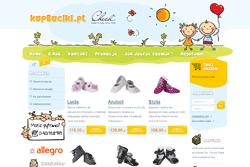 kupbuciki.pl - sklep internetowy zrealizowany przez Pffshop