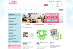 lena.waw.pl - sklep internetowy zrealizowany przez Pffshop