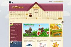 littleone.pl - sklep internetowy zrealizowany przez Pffshop