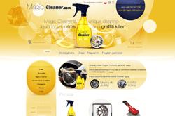 magic-cleaner.com - sklep internetowy zrealizowany przez Pffshop