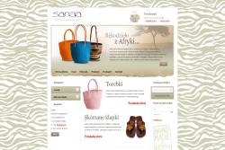 Sanaa.pl - sklep internetowy zrealizowany przez Pffshop
