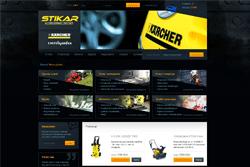stikar.pl - sklep internetowy zrealizowany przez Pffshop