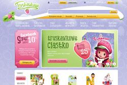 truskawkowo.com.pl - sklep internetowy zrealizowany przez Pffshop