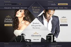 virtualtailor.pl - sklep internetowy zrealizowany przez Pffshop