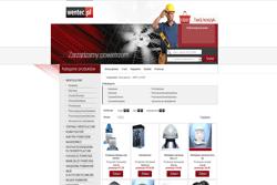 wentec.pl - sklep internetowy zrealizowany przez Pffshop