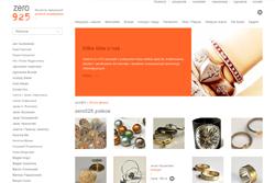 zero925.pl - sklep internetowy zrealizowany przez Pffshop